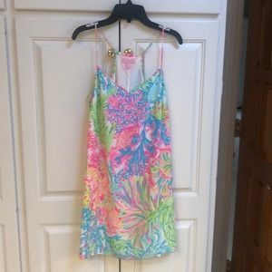 Multi colored Lilly Pulitzer silk sundress
